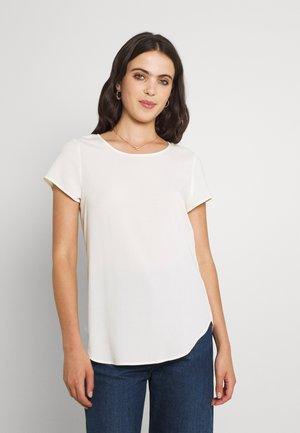 VMBECCA PLAIN - T-shirt basic - snow white
