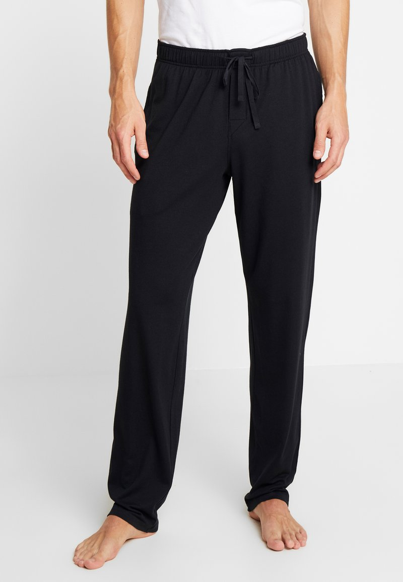 Schiesser - BASIC - Pyjama bottoms - black