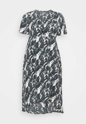 HIGH LOW DRESS - Długa sukienka - navy