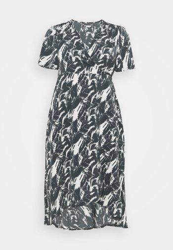 HIGH LOW DRESS - Maxi dress - navy