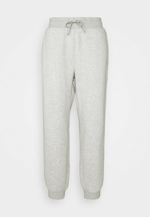 LONG PANTS - Tracksuit bottoms - lightgrey melange