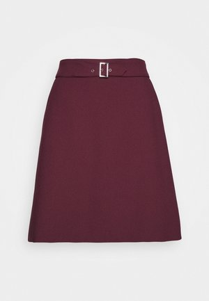 RIMENAS - A-line skirt - medium red