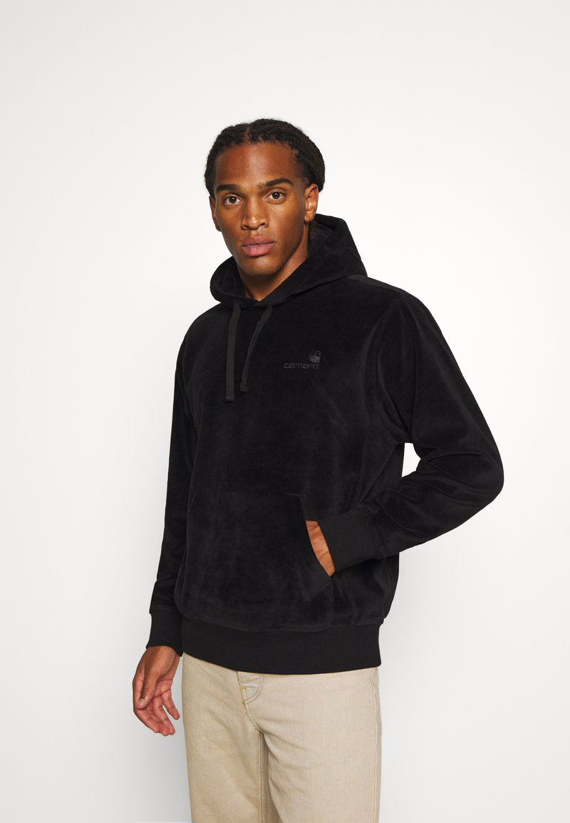 Carhartt WIP - HOODED UNITED SCRIPT  - Sweat à capuche - black