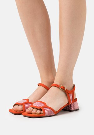 UGENA - Sandals - miranda rojo/russo