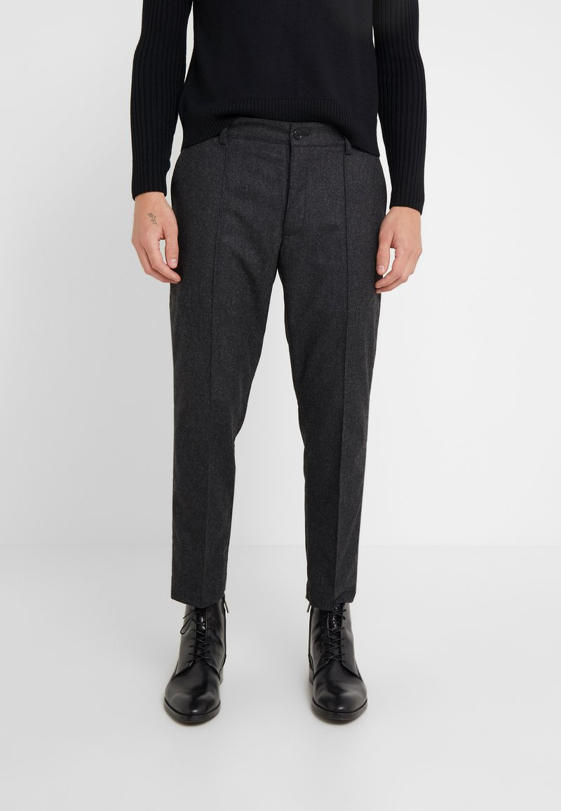 YMC You Must Create - HAND ME DOWN TROUSER - Trousers - charcoal