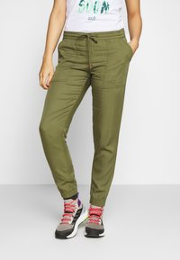 Jack Wolfskin - MOJAVE PANTS  - Trousers - delta green - 0