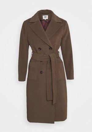 LORETTA COAT - Zimní kabát - winter oak melange