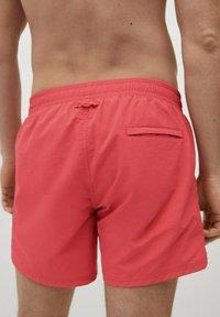 Mango - LISO - Swimming shorts - rouge - 3