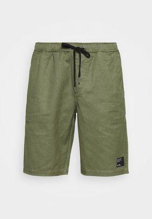 DENDY ELASTIC WAIST - Shorts - military