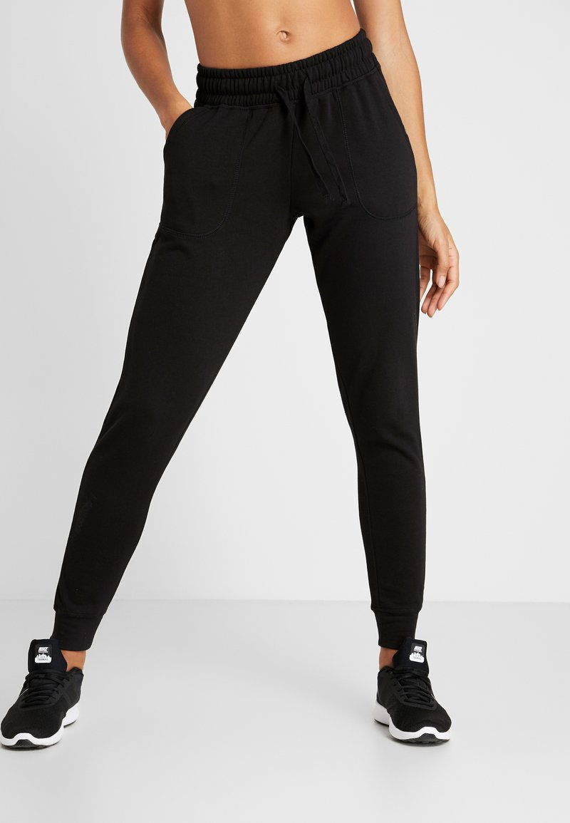 Cotton On Body - GYM TRACKPANT - Tracksuit bottoms - black