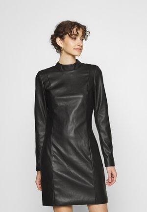 MERTA DRESS - Tubino - black