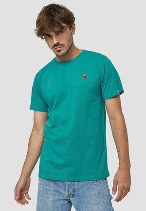HERZ - T-shirt basic - türkis