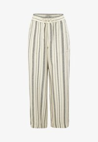 comma casual identity - Trousers - white woven stripes - 4