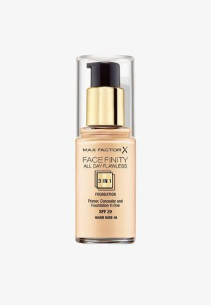 FACEFINITY ALL DAY FLAWLESS FOUNDATION - Foundation - 48 warm nude