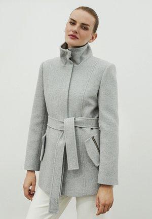 Short coat - l.grey