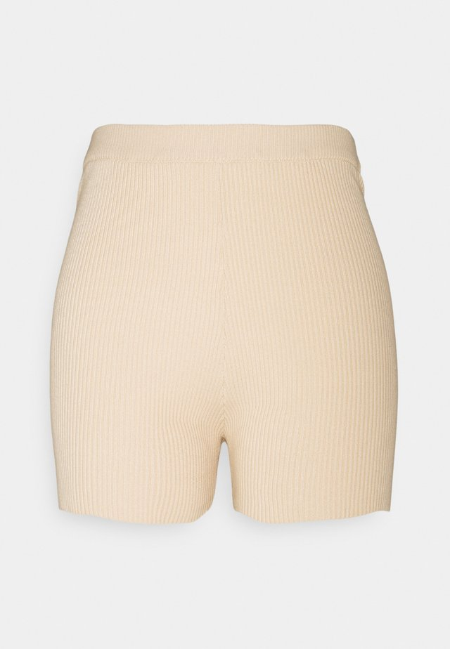 LULU SHORTS - Pyjamahousut/-shortsit - light beige