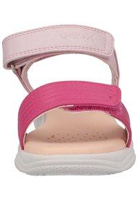 Geox - Sandals - pink/fuchsia - 5
