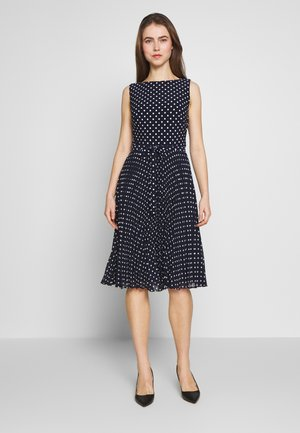 MATTE DRESS - Korte jurk - navy
