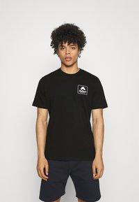 Carhartt WIP - PEACE STATE  - Print T-shirt - black / white - 2