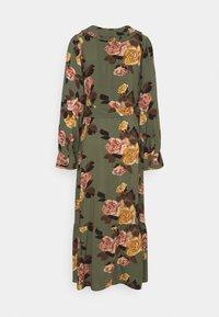 Object - OBJROSE DRESS - Maxi dress - deep lichen green - 1