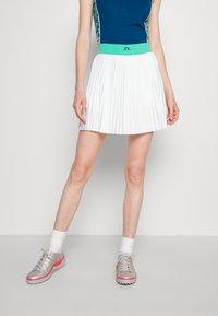 J.LINDEBERG - BINX GOLF SKIRT - Sports skirt - white - 0