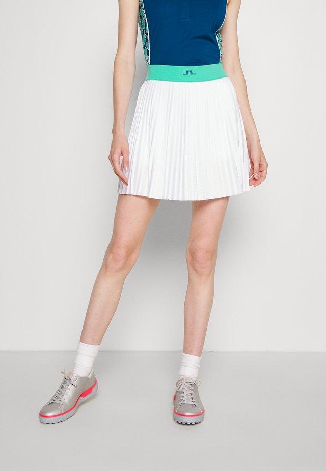 BINX GOLF SKIRT - Sportovní sukně - white