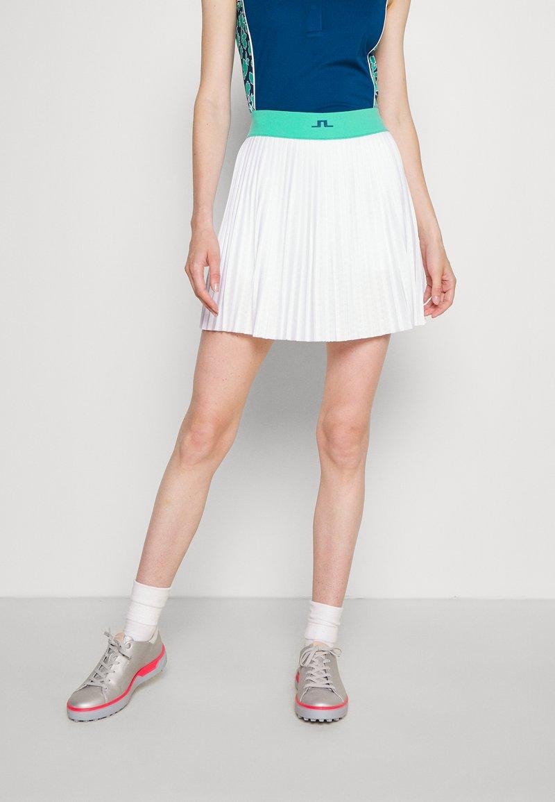 J.LINDEBERG - BINX GOLF SKIRT - Sports skirt - white