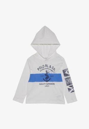 HOOD - Hoodie - white