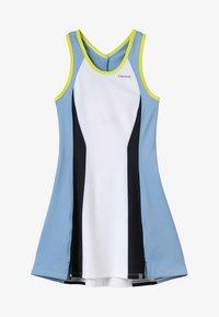 Head - FIONA DRESS  - Sports dress - white/yellow - 5