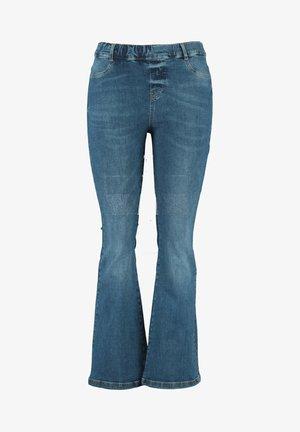 TREGGINGS POPPY - Flared Jeans - blue