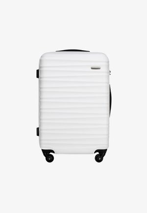 GROOVE LINE - Wheeled suitcase - weiß
