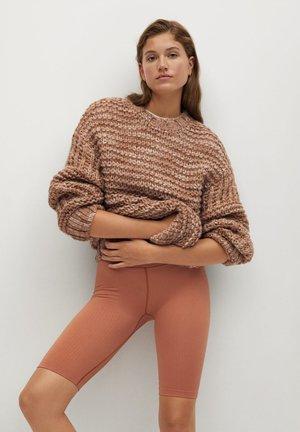 TEDDY - Pullover - mittelbraun
