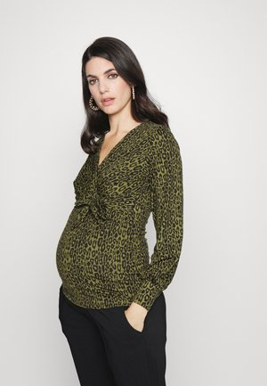 MLSEANNA TESS - Maglietta a manica lunga - dusty olive