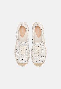 Even&Odd - Zapatos con cordones - beige - 4