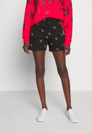 PANELLED  - Shorts - darkest black
