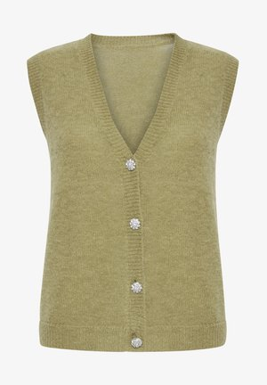 PXIRIS SPECIAL FAIR OFFER - Cardigan - gothic olive
