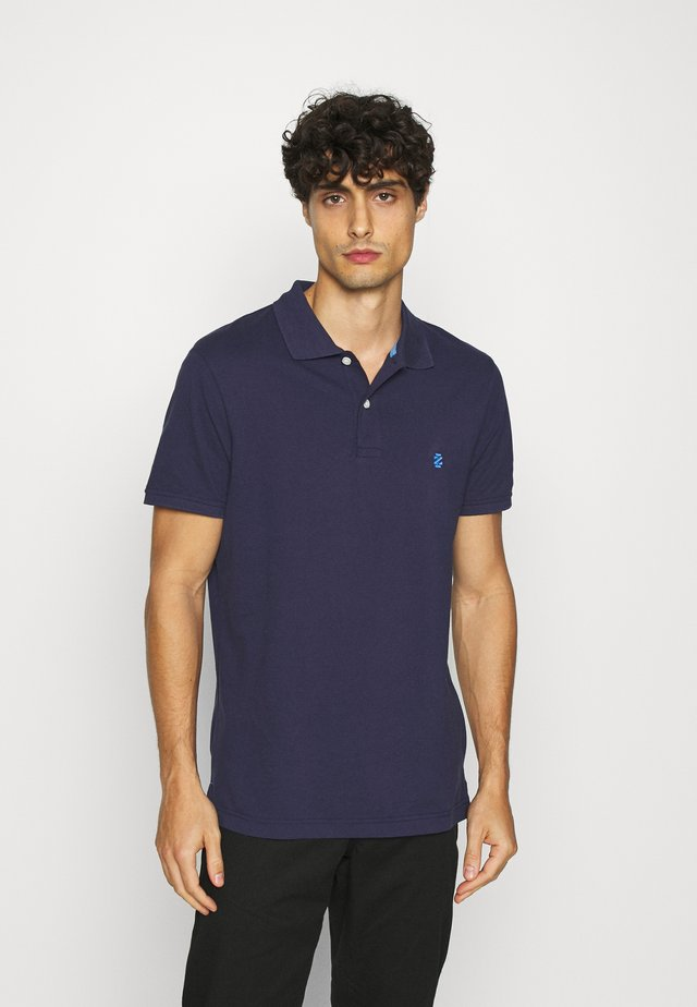 Polo shirt - peacoat