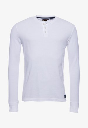 Long sleeved top - brilliant white