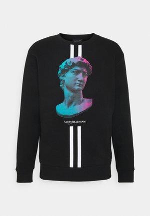 LINEAR STATUE CREWNECK - Sweatshirt - black