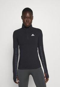 adidas Performance - Long sleeved top - black - 0