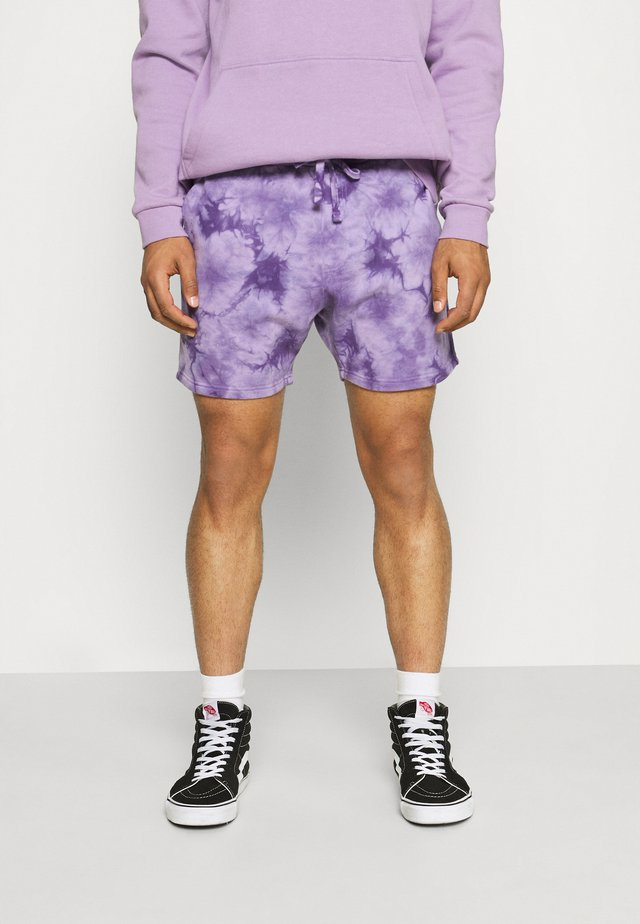 UNISEX - Shorts - purple