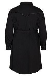 Zizzi - Shirt dress - black - 4