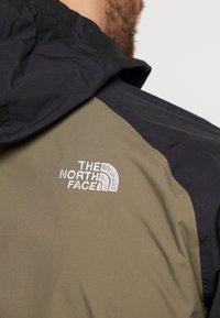 The North Face - MENS STRATOS JACKET - Kuoritakki - new taupe green/black/british khaki - 6