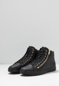 ALDO - KECKER - Sneakersy wysokie - black - 2