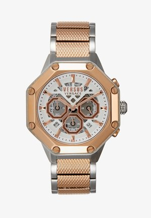 KOWLOON PARK - Chronograph watch - rosegold-coloured
