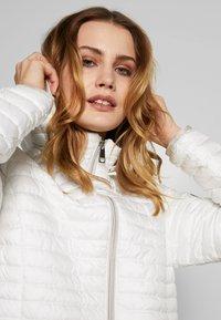Barbara Lebek - STEPP MIT KAPUZE - Light jacket - offwhite - 3