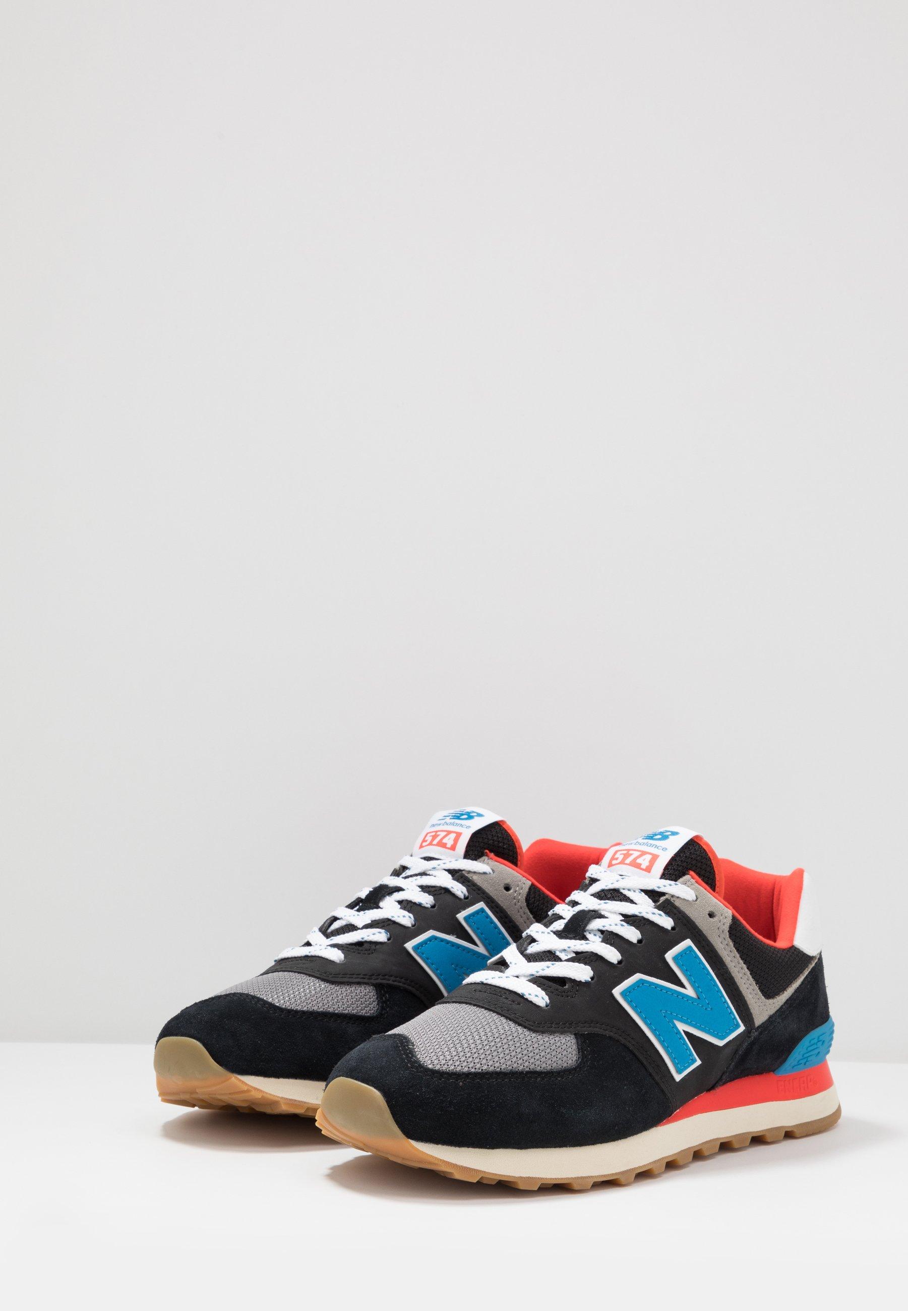 new balance 574 sneakers nero