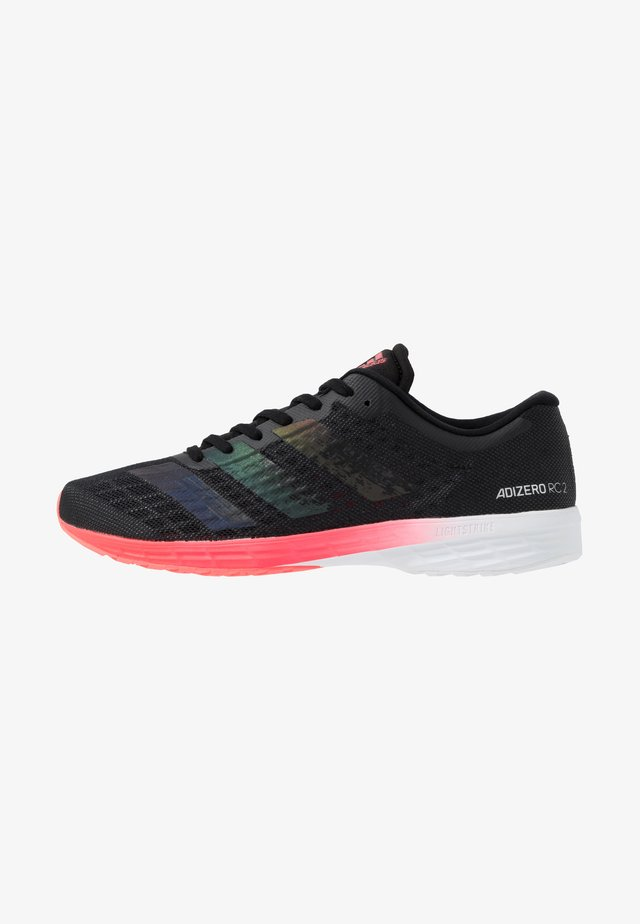 ADIZERO RC 2 - Competition running shoes - core black/signal pink