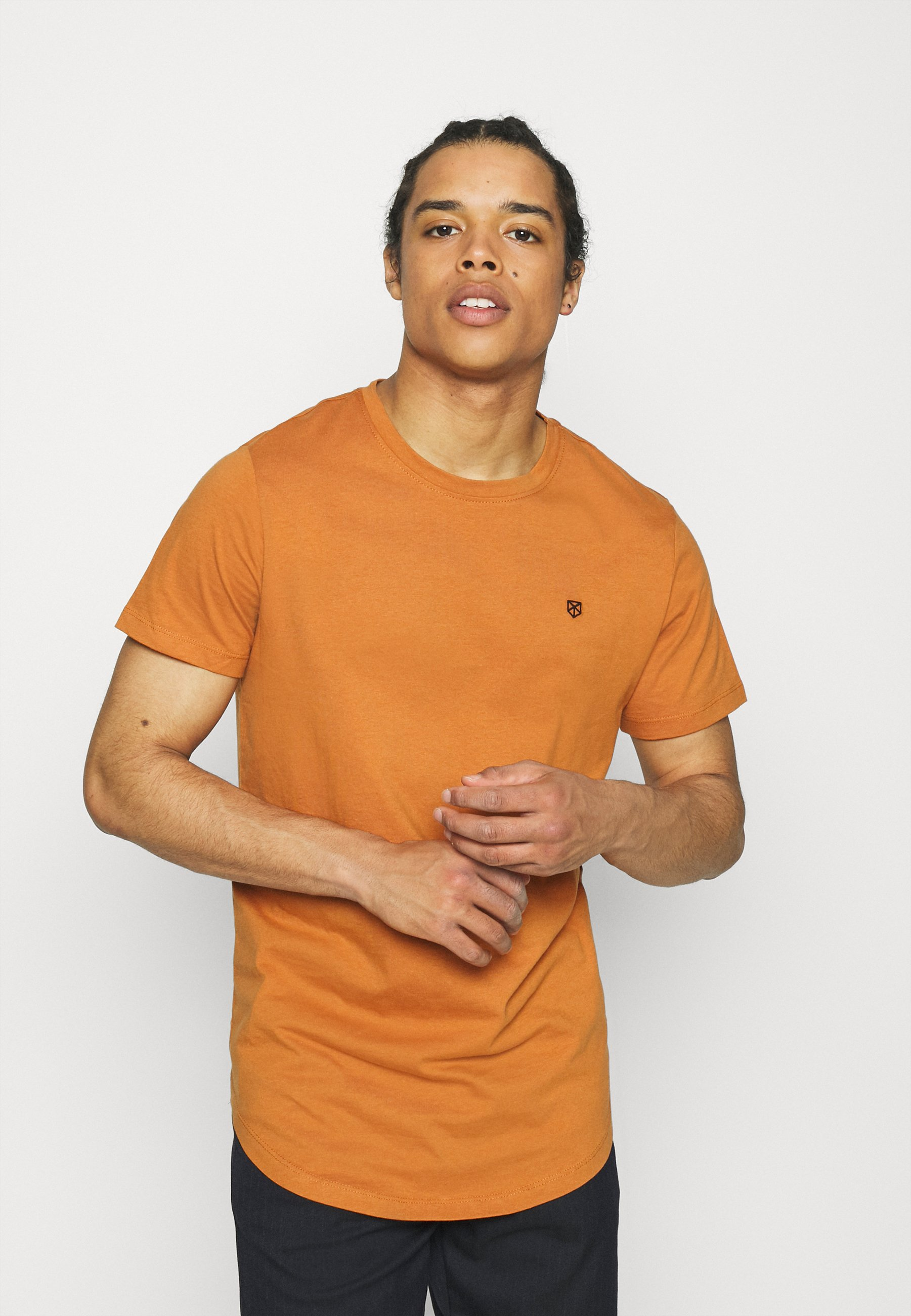 Men JPRBRODY TEE CREW NECK 5 PACK - Basic T-shirt