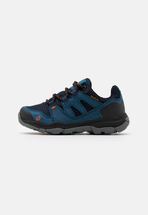 MTN ATTACK 3 TEXAPORE LOW UNISEX - Hikingschuh - dark blue/orange